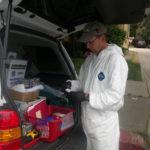 Methamphetamine Sample Processing